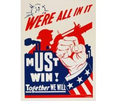 We're all in it - Must win! Together we will